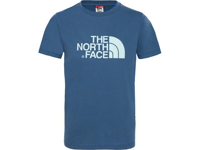 The North Face Easy S/S Tee Pojkar shady blue/canal blue